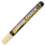 Cream Rainbow chalk 5mm Chisel Nib Liquid Chalk Marker